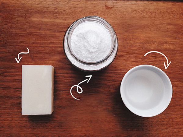Sabão de coco, bicarbonato de sódio e vinagre: seus aliados na limpeza sem lixo