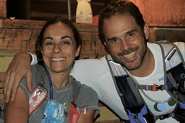 Cris Carvalho e Caco Alzugaray