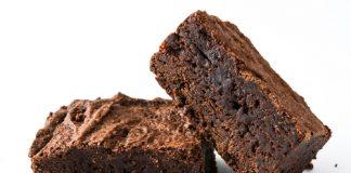 receita de brownie de chocolate low carb