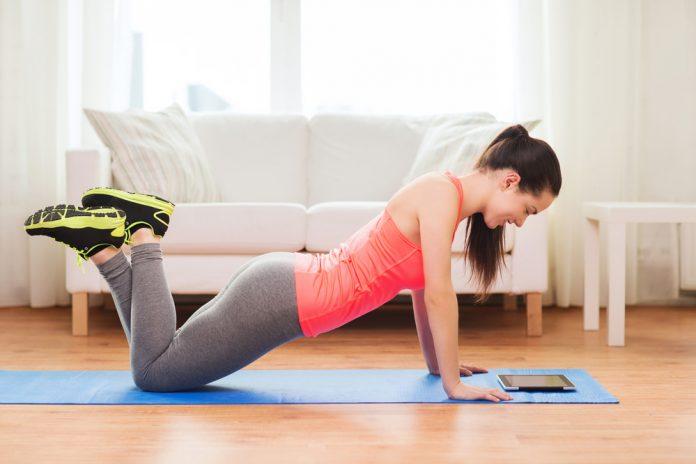 treino de pilates em casa