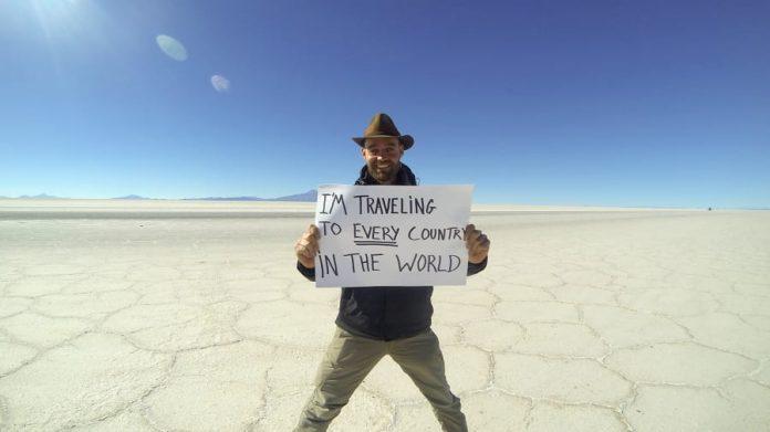 dar a volta ao mundo sem avião
