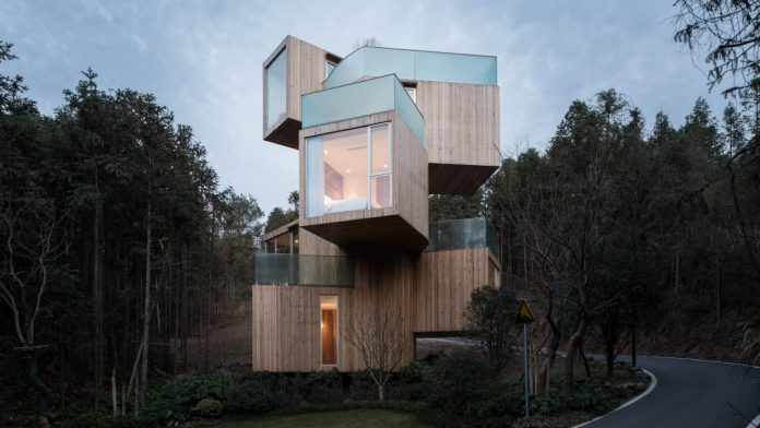 casas na natureza