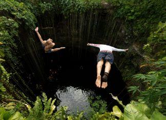 saltos cenotes