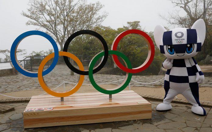 contagem regressiva para os jogos olímpicos de tóquio