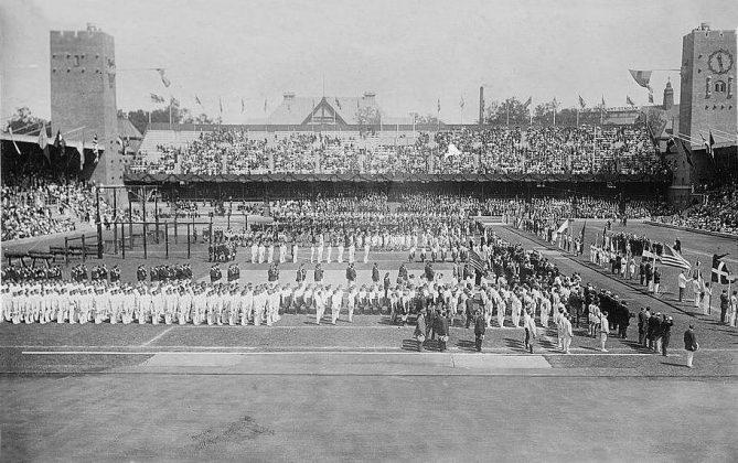 olimpíadas de estocolmo em 1912