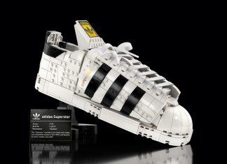Lego cria tênis Adidas Superstar montável