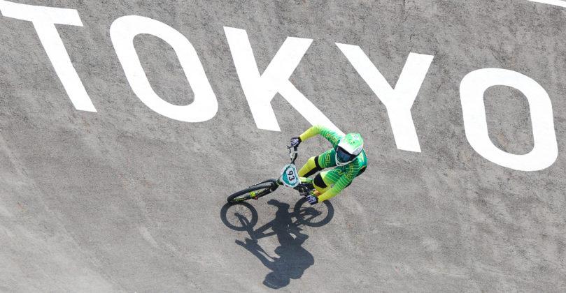29.07.2021 - Jogos Olímpicos Tóquio 2020 - Ciclismo BMX Feminino. Na foto a atleta Priscila Carnaval. Foto: Wander Roberto/COB