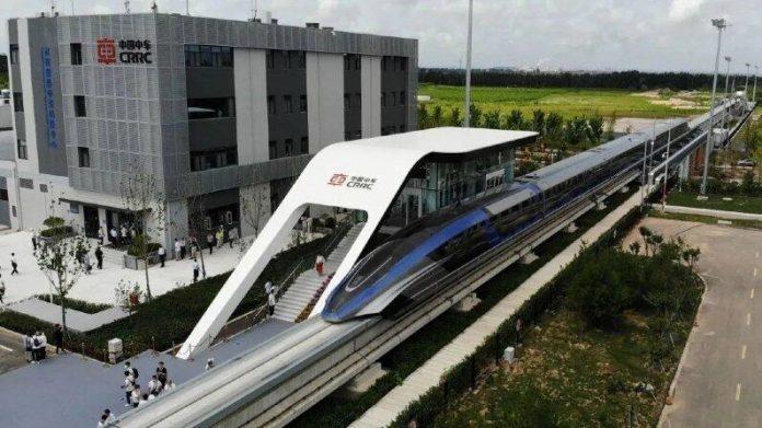 Trem mais rápido do mundo é inaugurado na China e 'levita' a 600km/h