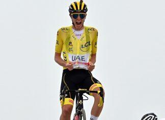 Tadej Pogacar vence 17° etapa do Col du Portet no Tour de France