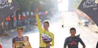 Tadej Pogacar é bicampeão do Tour de France