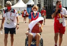 Tenista espanhola abandona quartas, após passar mal de calor