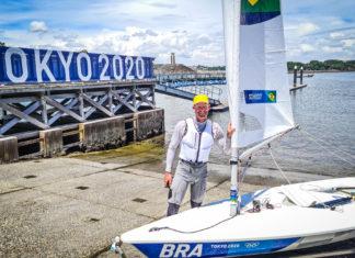 Robert Scheidt fica em 11º na vela em sua estreia nas Olimpíadas de Tóquio
