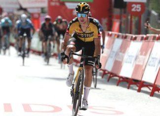 Roglic e Eiking têm protagonizado um verdadeiro duelo, brigando de perto pelos resultados em cada uma das etapas da Vuelta