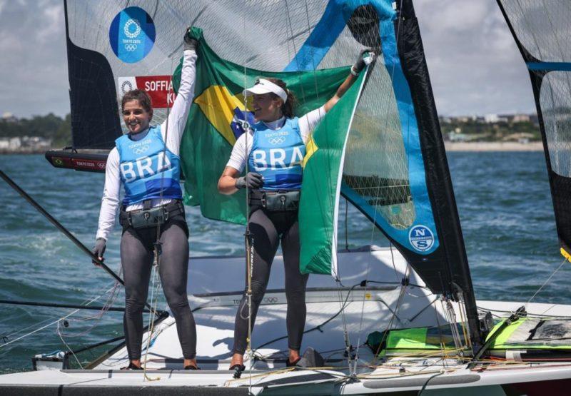 Martine Grael e Kahena Kunze trouxeram ouro para o Brasil na vela