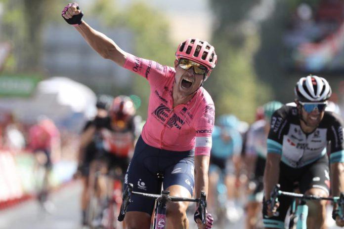 Dinamarquês levou a melhor na 12ª etapa da Vuelta a España no sprint final