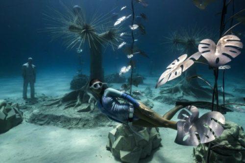 Museus subaquáticos pelo mundo