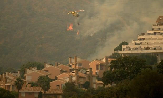 Incêndios florestais na Espanha ameaçaram milhares de pessoas