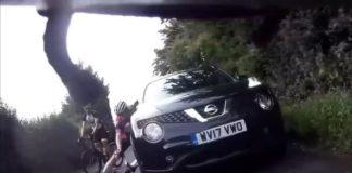 Vídeo: Ciclista leva soco de motorista enquanto pedalava em estrada da Inglaterra