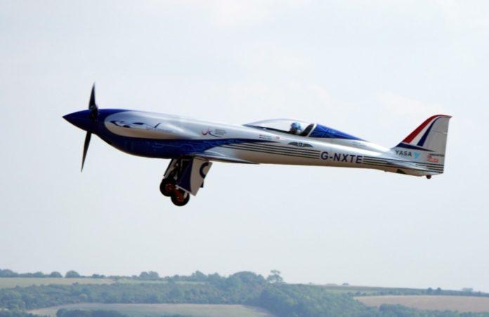 Voo avião elétrico mais rápido do mundo