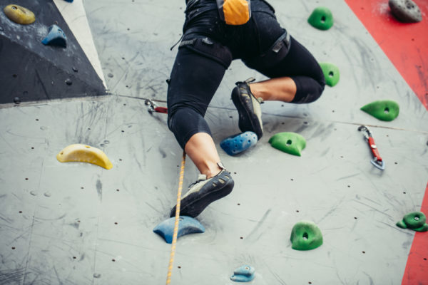 escalada esportiva