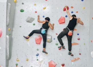 como praticar escalada esportiva
