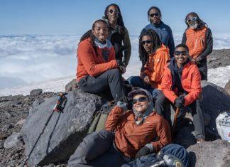 Primeiro grupo norte-americano negro a subir o Everest