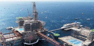Plataforma de petróleo será hotel e parque temático