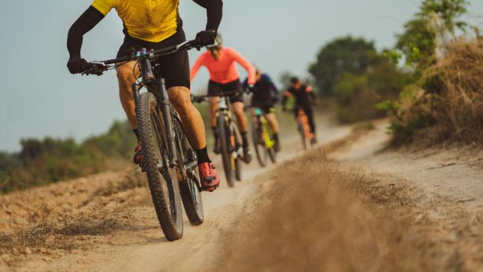 Como praticar mountain bike