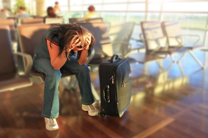 O que você deve fazer caso chegue atrasado para o voo